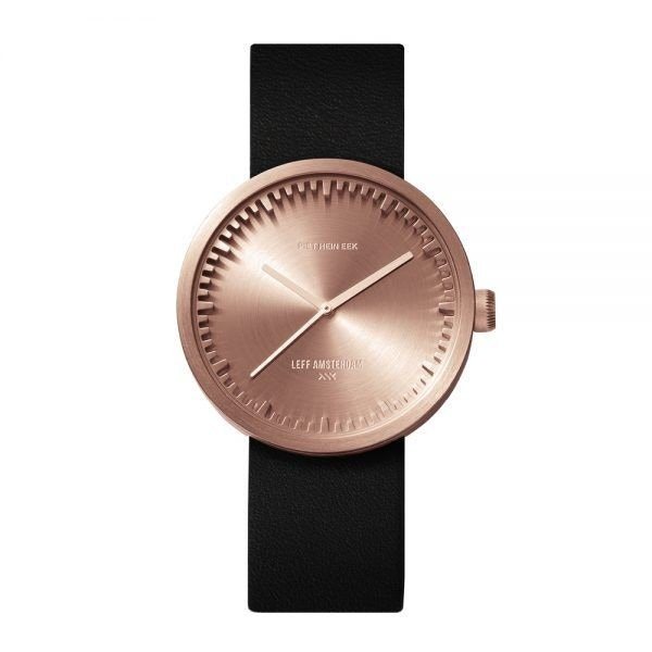 Leff Amsterdam Tube D38 Rose Gold Watch
