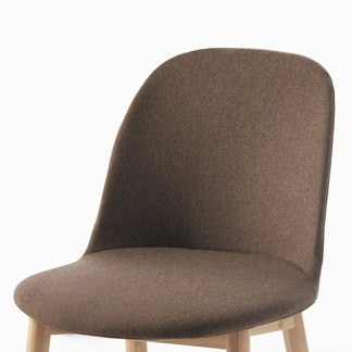 Emeco Alfi Soft Slipcover, High Back