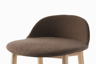 Emeco Alfi Soft Slipcover, Low Back