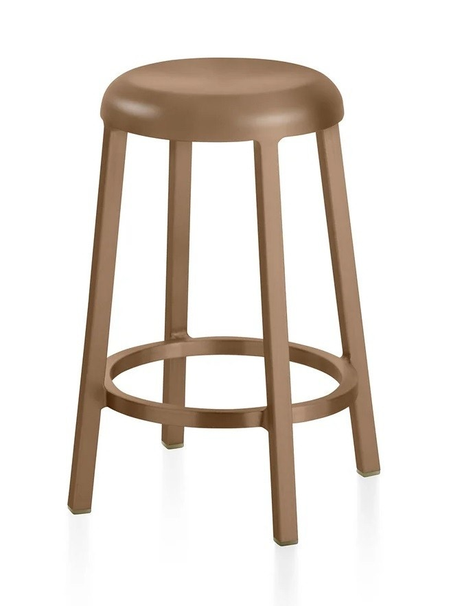 Emeco ZA Counter/Bar Stool