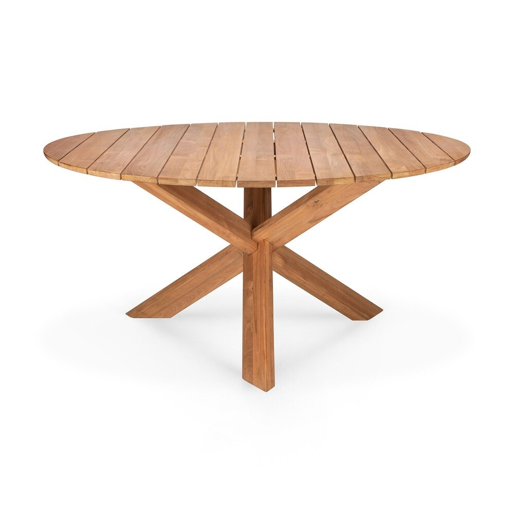 Ethnicraft Circle Outdoor Dining Table