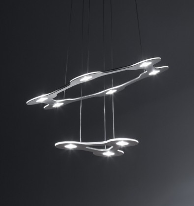 Lumen Center Italia Flat Saturn 1 Suspension Lamp