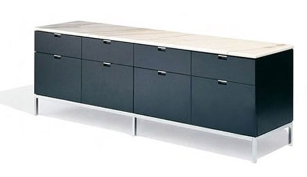 Knoll Florence Knoll® Credenza - Four Position (Four Storage Cabinets) Style 4