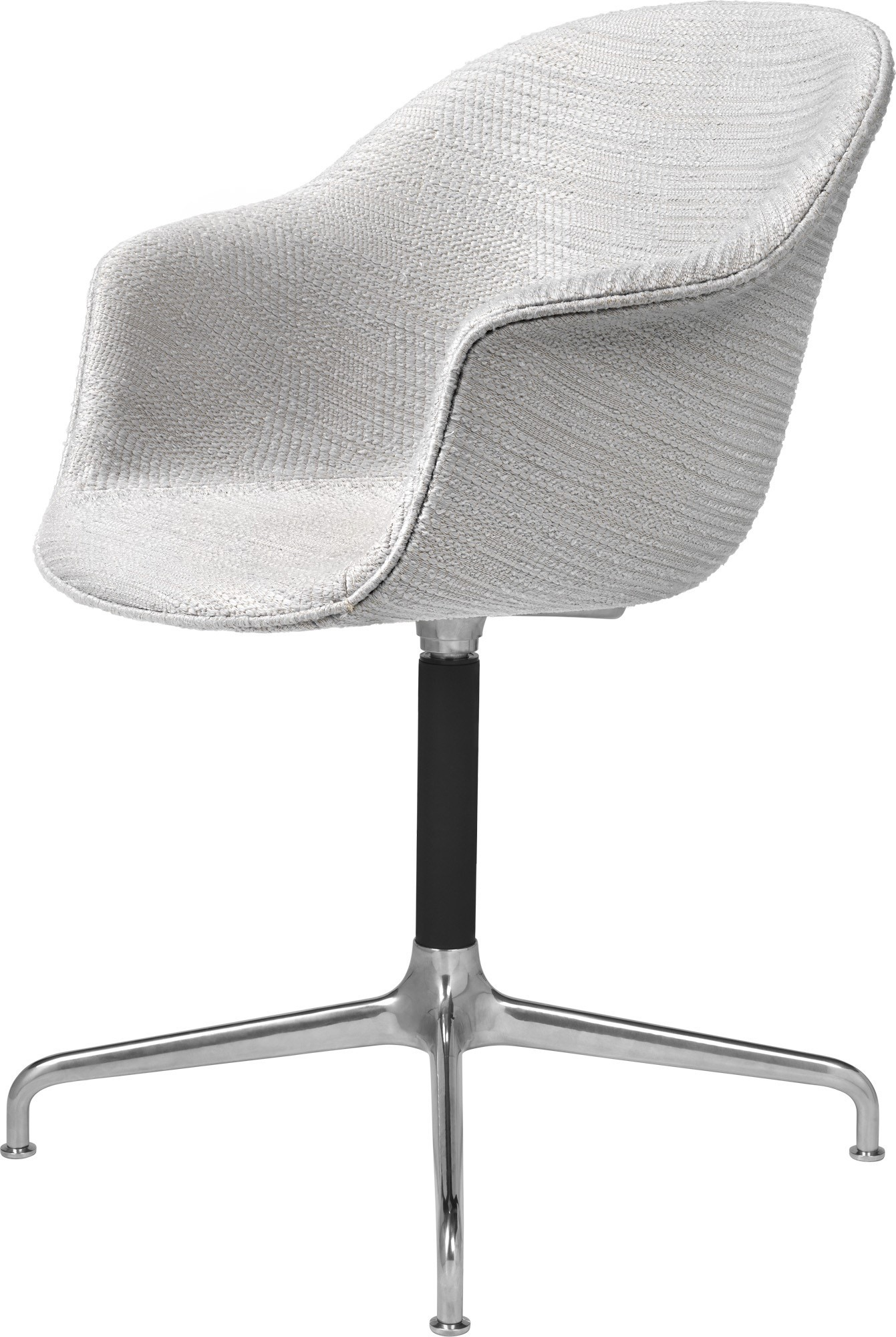 GUBI Bat 4-Star Base Meeting Chair (Fully-Upholstered)