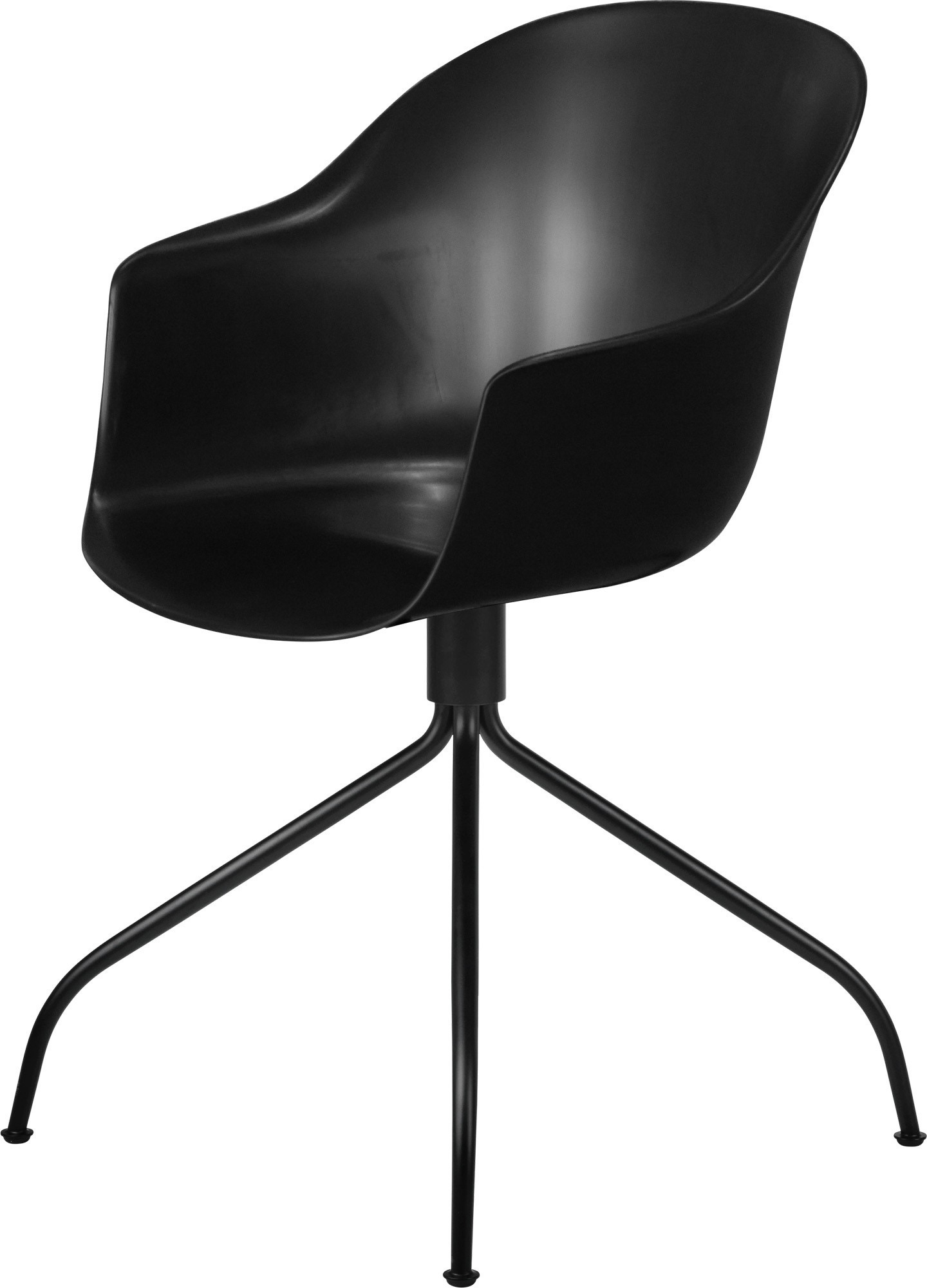 GUBI Bat Swivel Base Meeting Chair