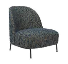 GUBI Sejour Lounge Chair (Fully Upholstered)