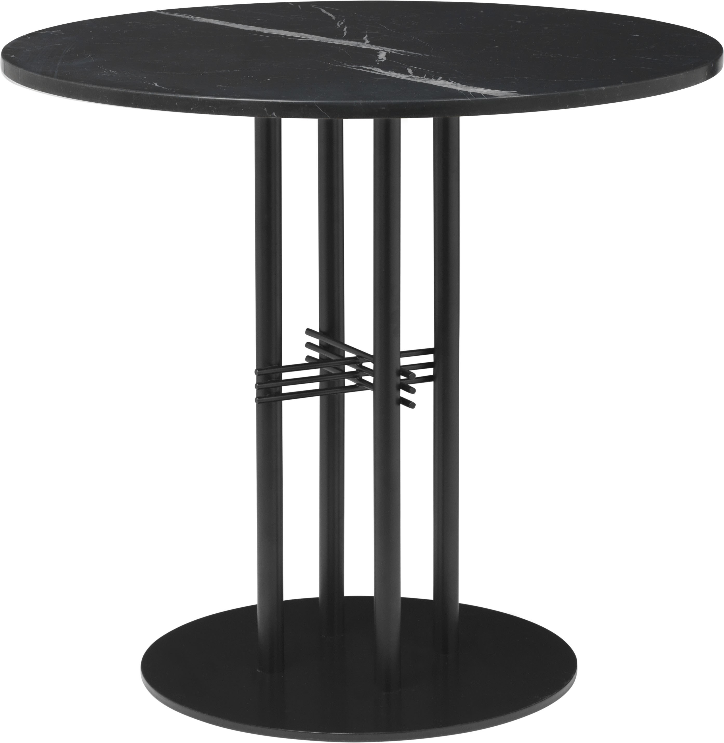 GUBI TS Column Round Dining Table - Ø80 cm
