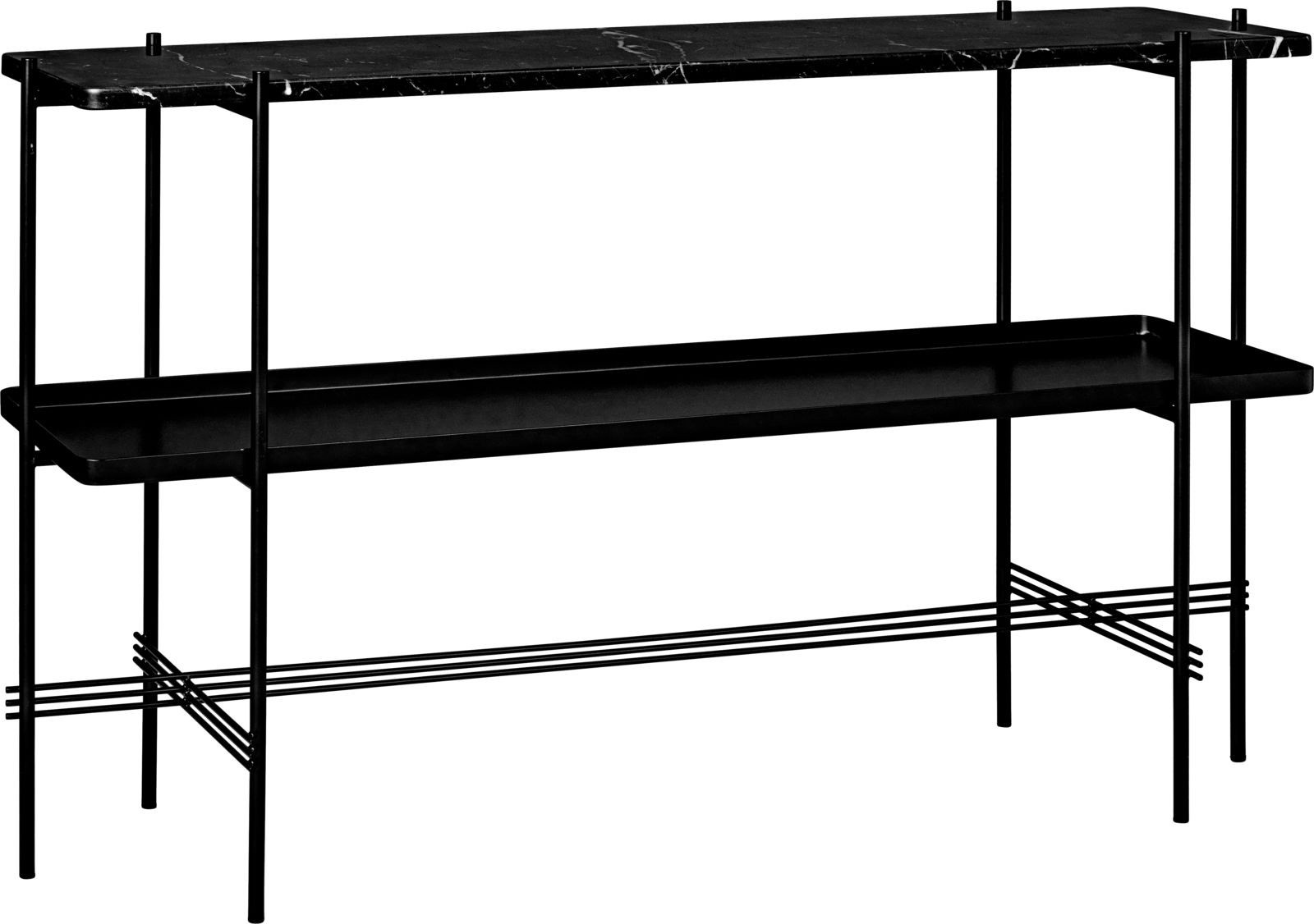 GUBI TS Console 2 Rack Table with Tray- 120 x 30 cm