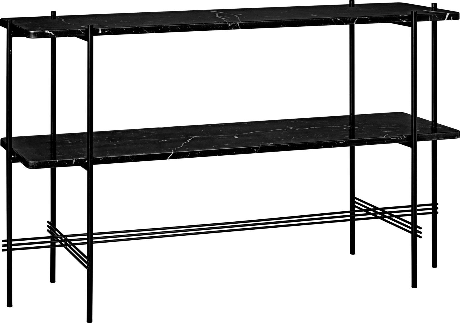 GUBI TS Console Table with 2 Rack - 120 x 30 cm