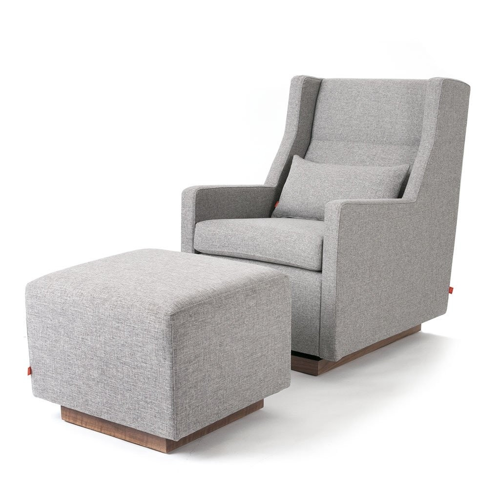 Gus* Modern Sparrow Glider with Optional Ottoman