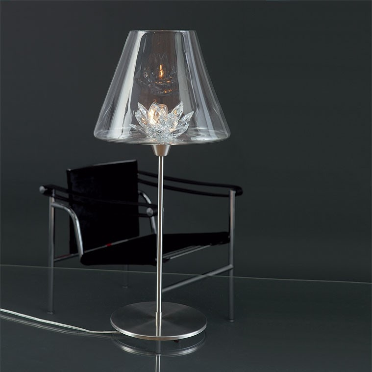 Harco Loor Flower Large Table Lamp