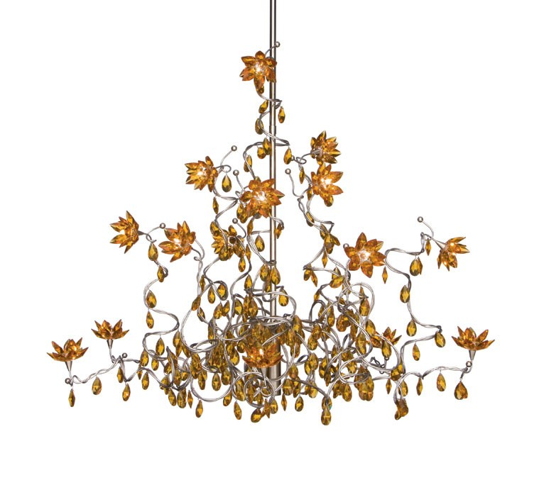 Harco Loor Jewel Chandelier Suspension Lamp