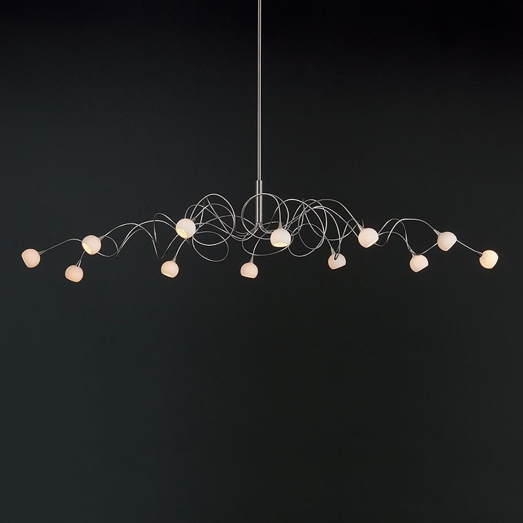 Harco Loor Snowball Oval Suspension Lamp