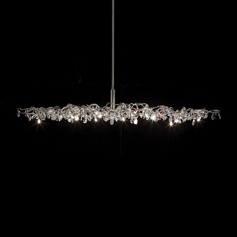 Harco Loor Tiara Oval Suspension Lamp