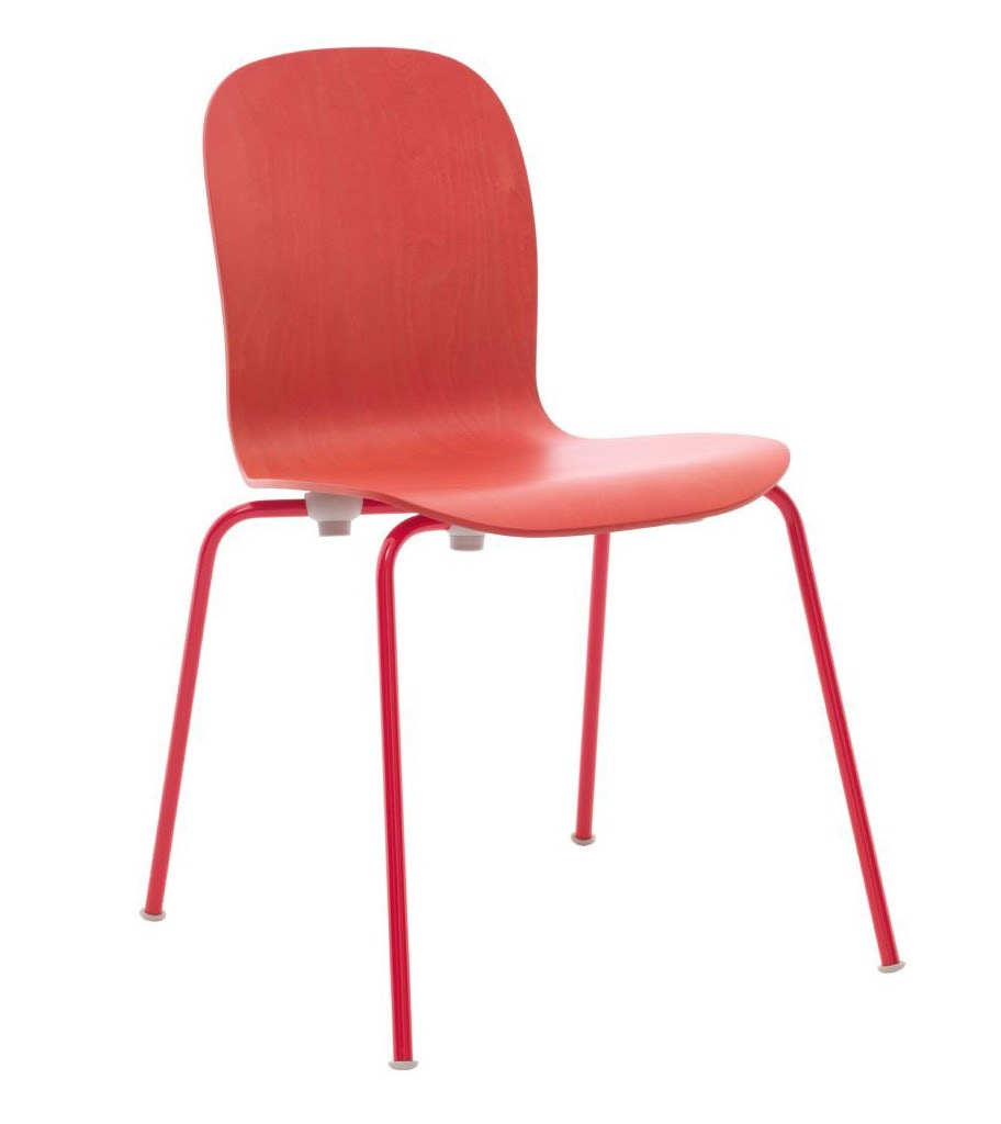 Haworth Collection Cappellini Tate Color Stacking Side Chair