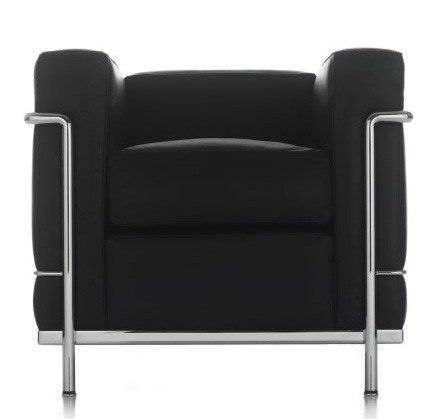 haworth collection cassina lc2 lounge chair
