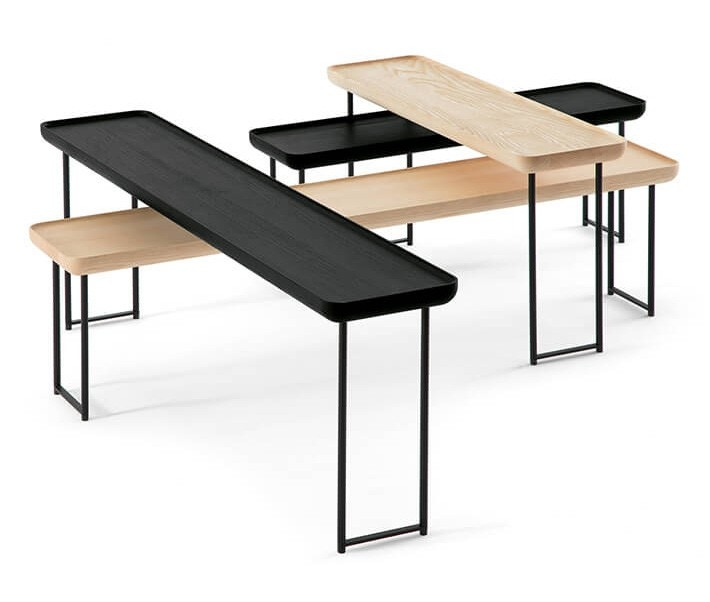 Cassina Torei Rectangle Occasional Table Modern Planet