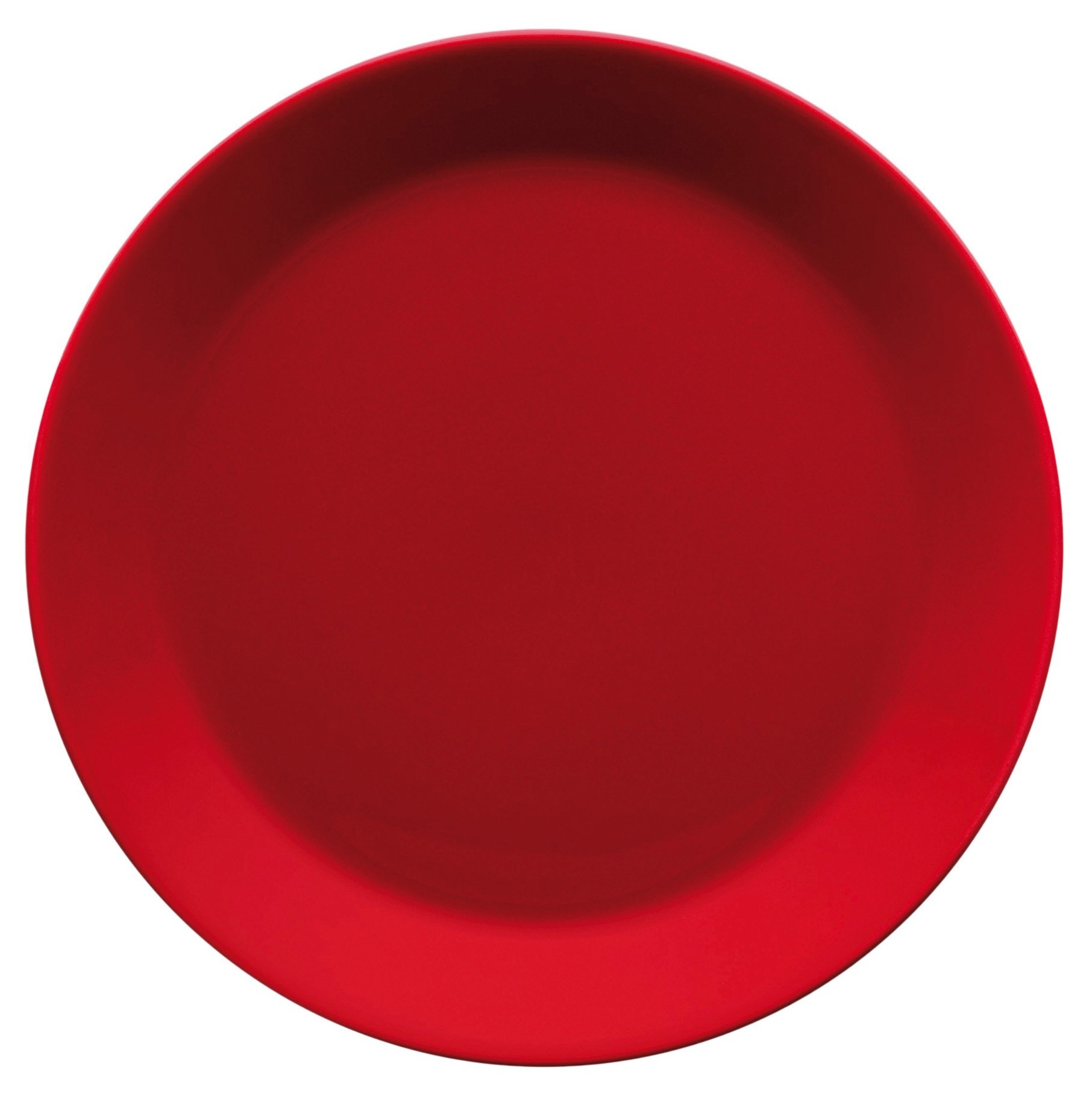 Iittala Teema Salad Plate Holiday Red
