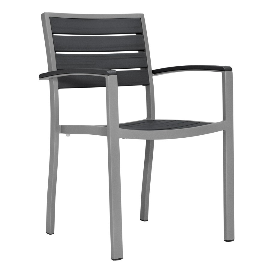 Janus Et Cie Tate Stacking Side Chair With Arms