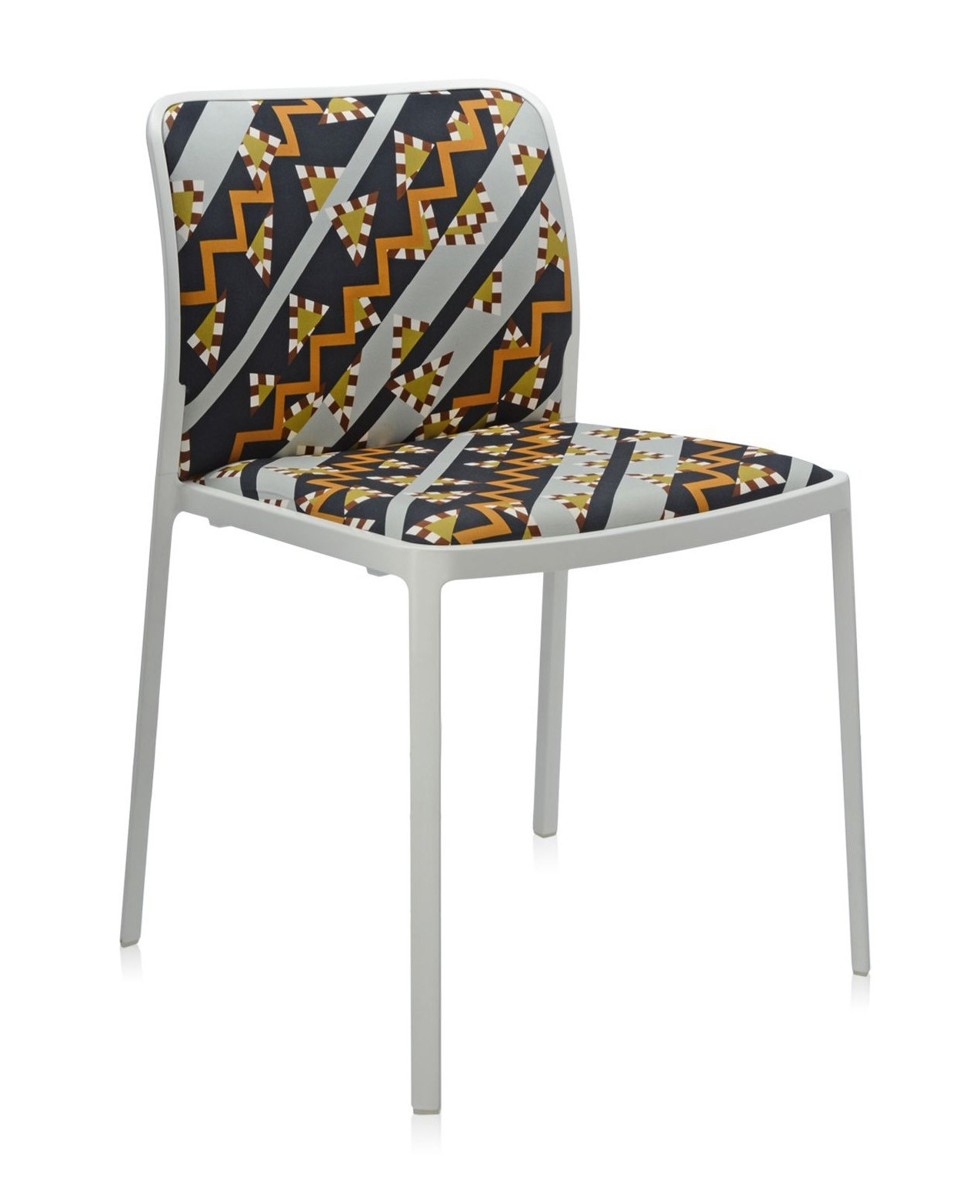 Kartell Audrey Soft Memphis Chair (Priced Each, Sold in Sets of 2)