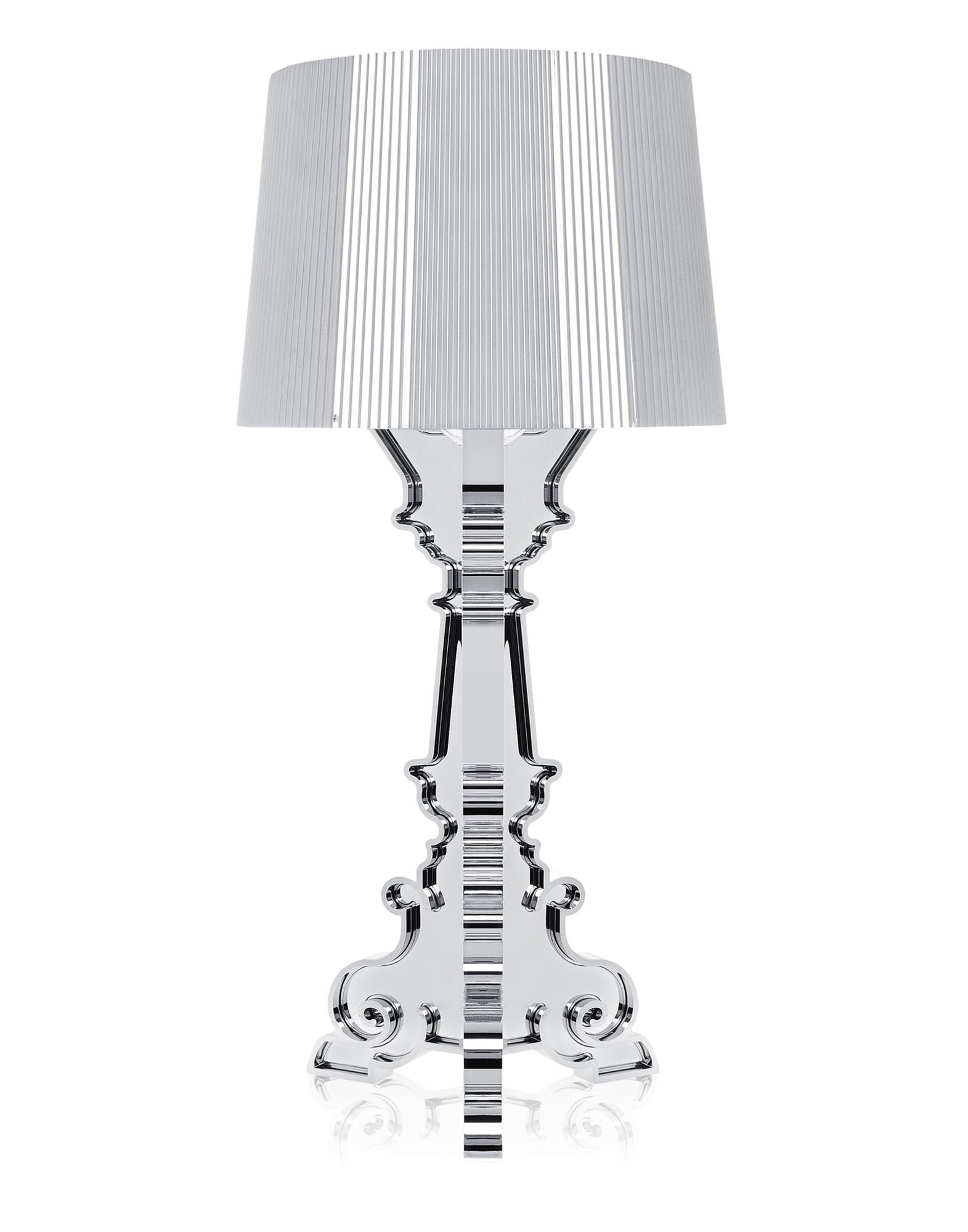 Kartell bourgie table lamp chrome plated modern planet kartell bourgie table lamp chrome plated 1 geotapseo Choice Image