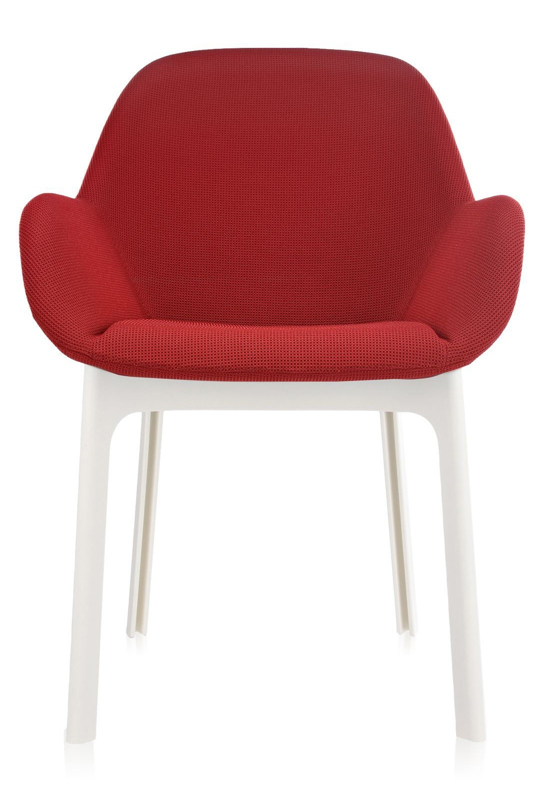 Kartell Clap Solid-Coloured Fabric Armchair