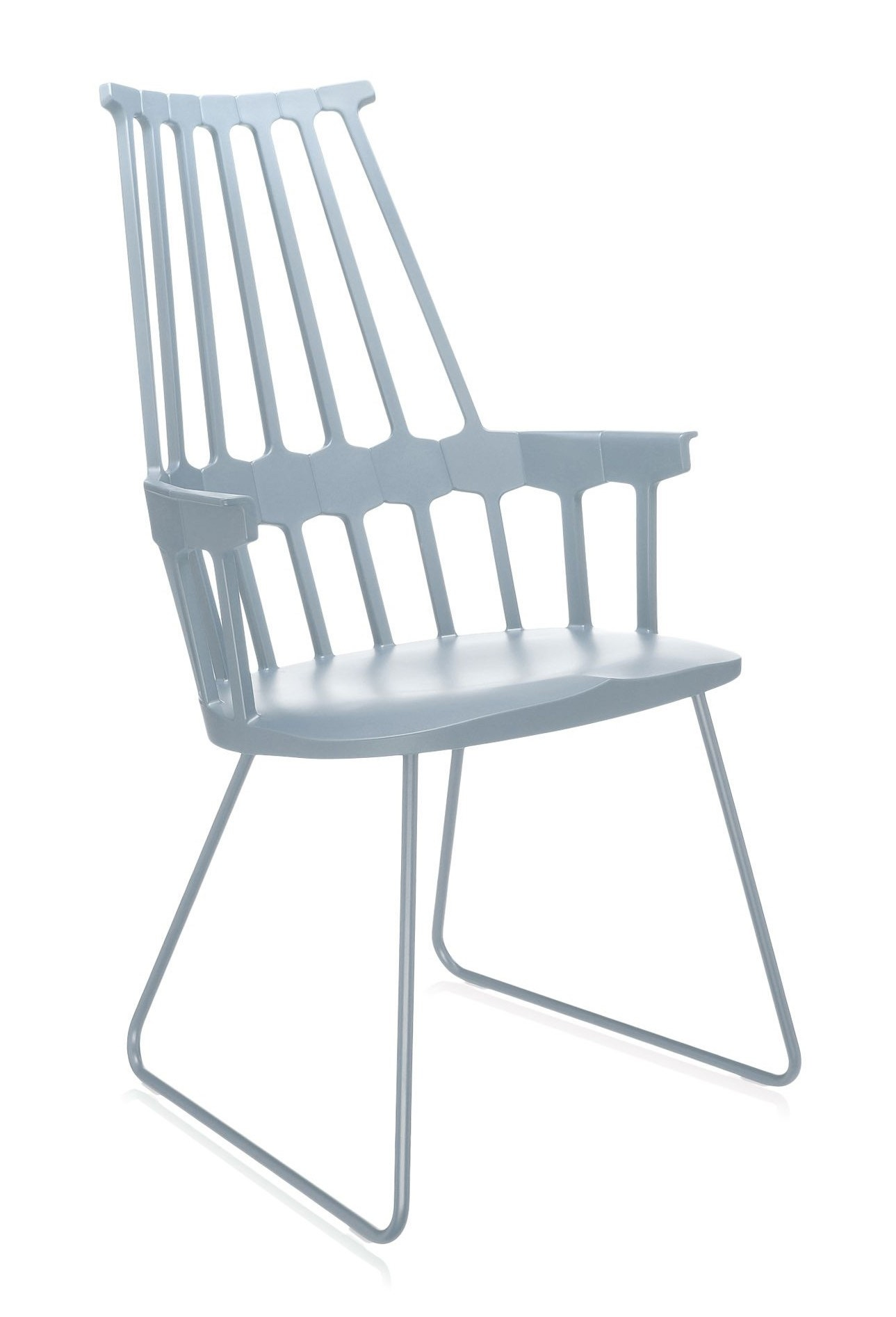 Kartell Comback Sled Chair (Priced Each, Sold in Sets of 2)