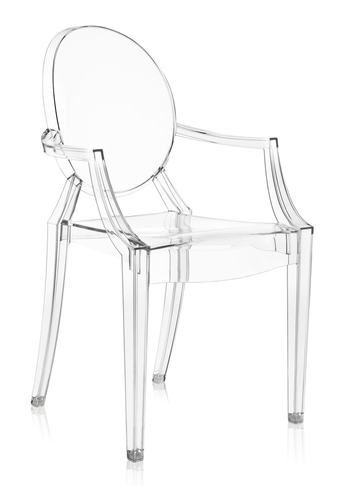 Kartell Louis Ghost Armchair Crystal Priced Each Sold In Sets Of