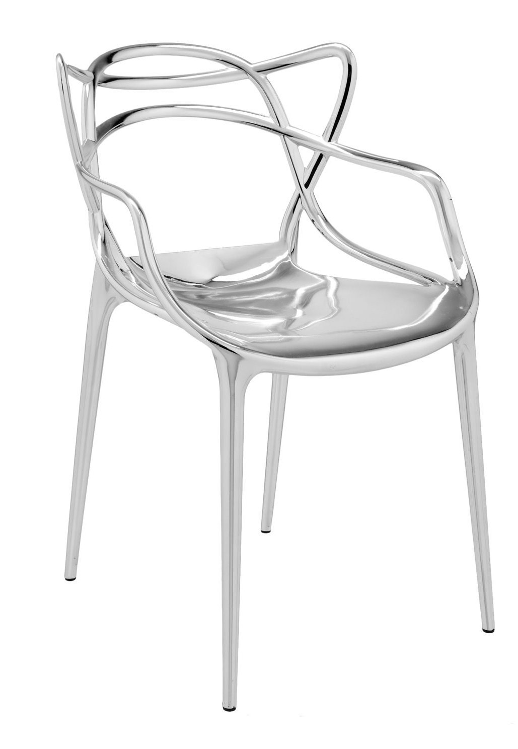 Ordinaire Kartell Masters Metallic Armchair (Priced Each, Sold In Sets Of 2)   Modern  Planet