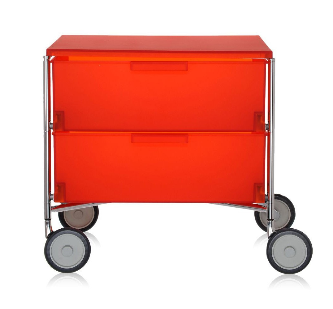 Kartell Mobil Containers with Castor Base