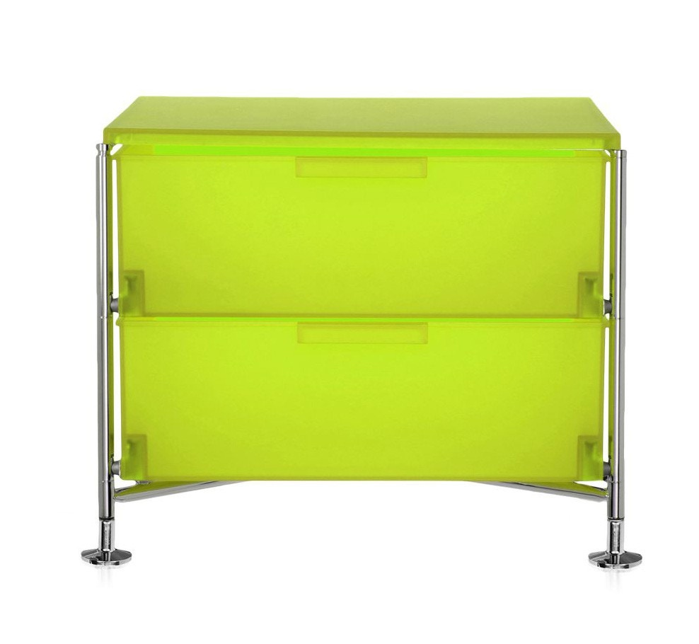 Kartell Mobil Containers with Feet Base