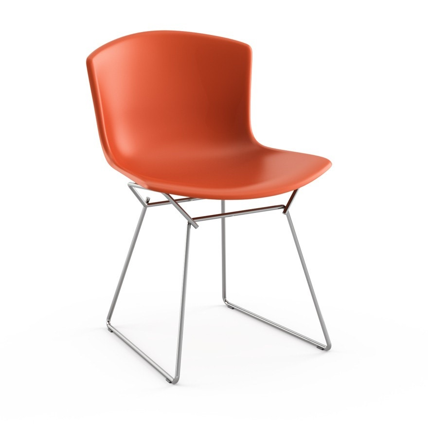 Knoll Harry Bertoia Molded Shell Side Chair