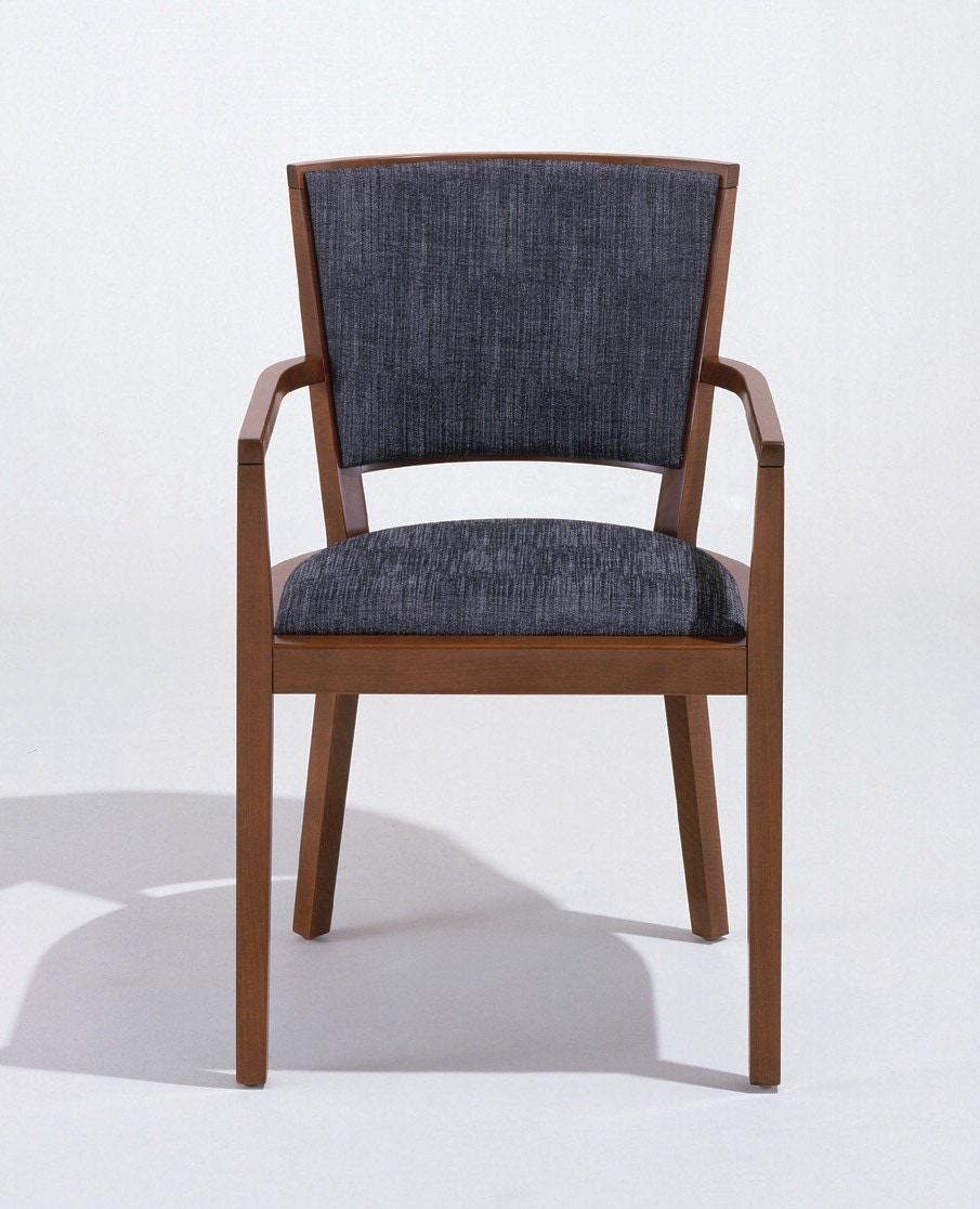 Knoll Vertical de Armas Chair (Fully Upholstered)