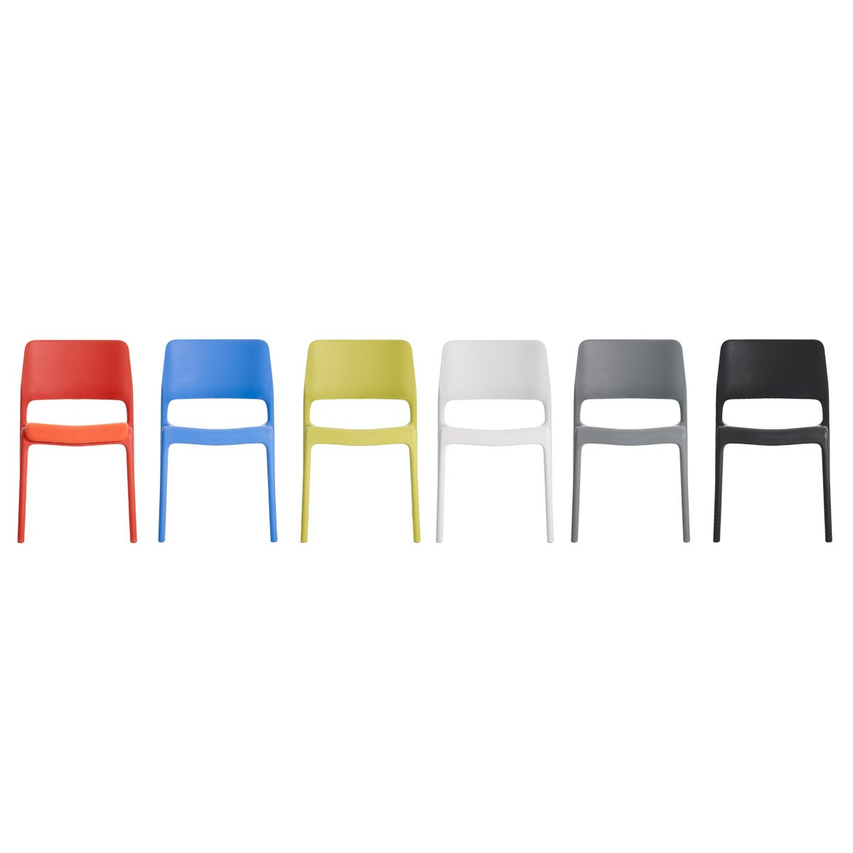 Knoll Chadwick Spark Stacking Side Chair Modern Planet
