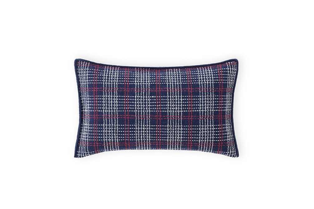 Gan LAN Space Indigo Cushion, 60x35 cm