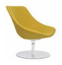 ... Round Base Lounge Chair. 1