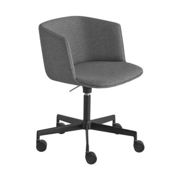 Lapalma Cut S187 Swivel Base Height Adjustable Armchair (Fully Upholstered)