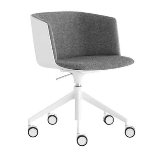 Lapalma Cut S188 Swivel Base Height Adjustable Armchair (Front Upholstered)