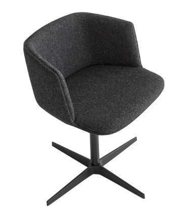 Lapalma Cut S191 Star Base Armchair (Fully Upholstered)