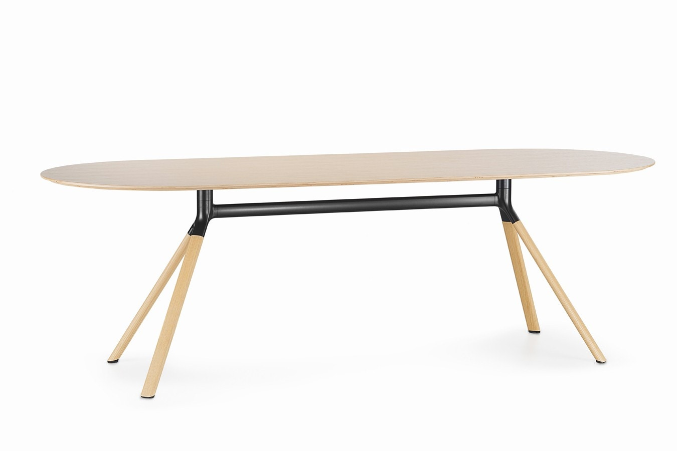 Lapalma Fork Large Conference Table Modern Planet - Large oval conference table