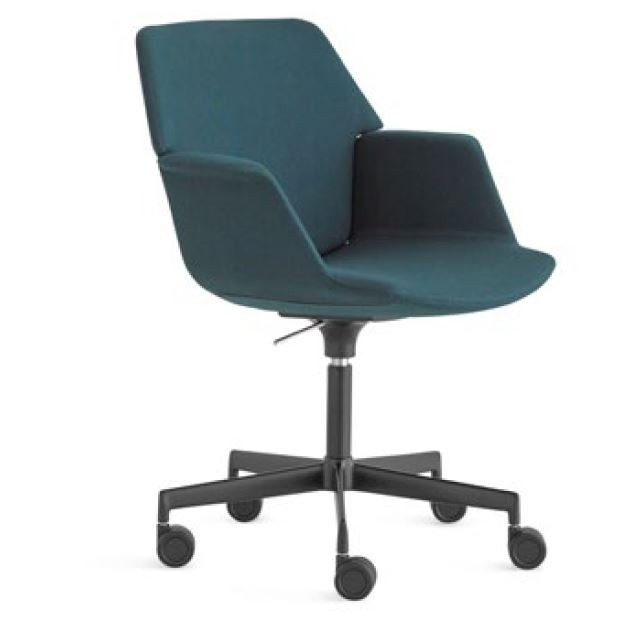 Lapalma Uno S230 Swivel Base Height Adjustable Armchair