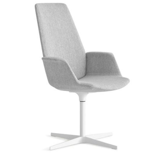 Lapalma Uno S245 4 Star Base Armchair with High Back