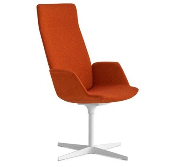 Lapalma Uno S260 4 Star Base Armchair with High Back