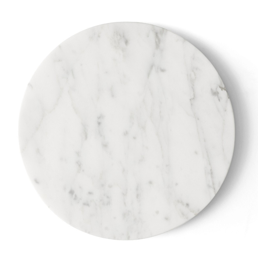 Menu Wire Marble Top