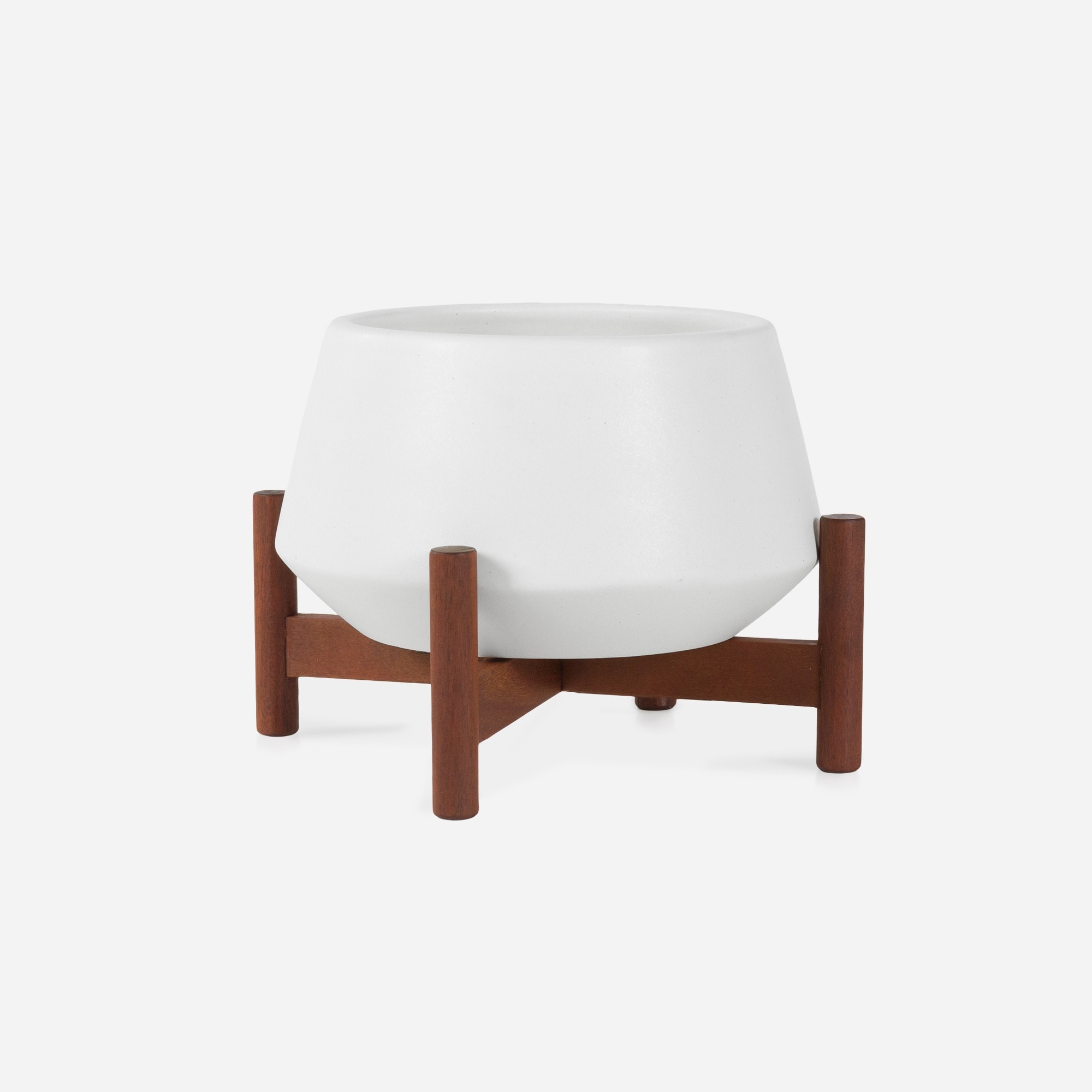 Modernica Case Study® Ceramics Table Top Diamond With Wood Stand