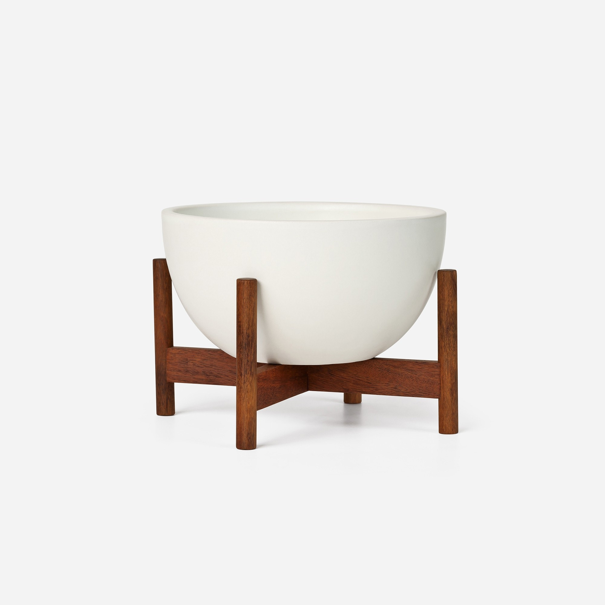 Fantastic Modernica Case Study® Ceramics Table Top Bowl With Stand - Modern  EY18