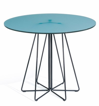 Knoll Vignelli Associates - Paperclip Round Cafe Table