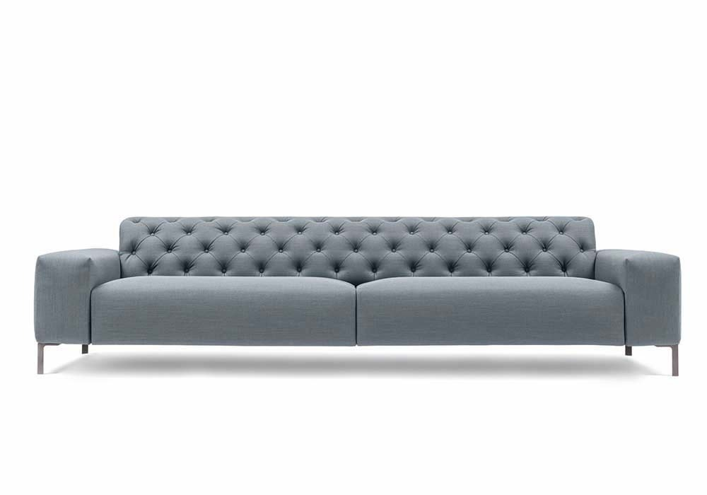 Pianca Boston Sofa With Tufted Back - Modern Planet