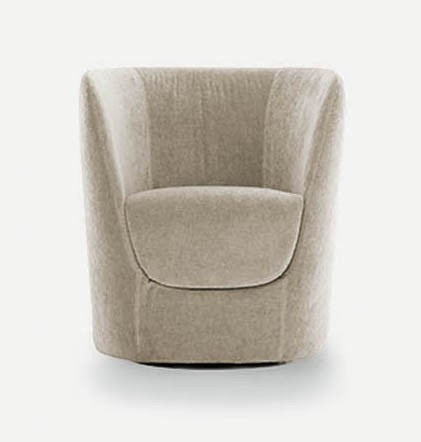 Pianca Opla Armchair With Swiveling Base