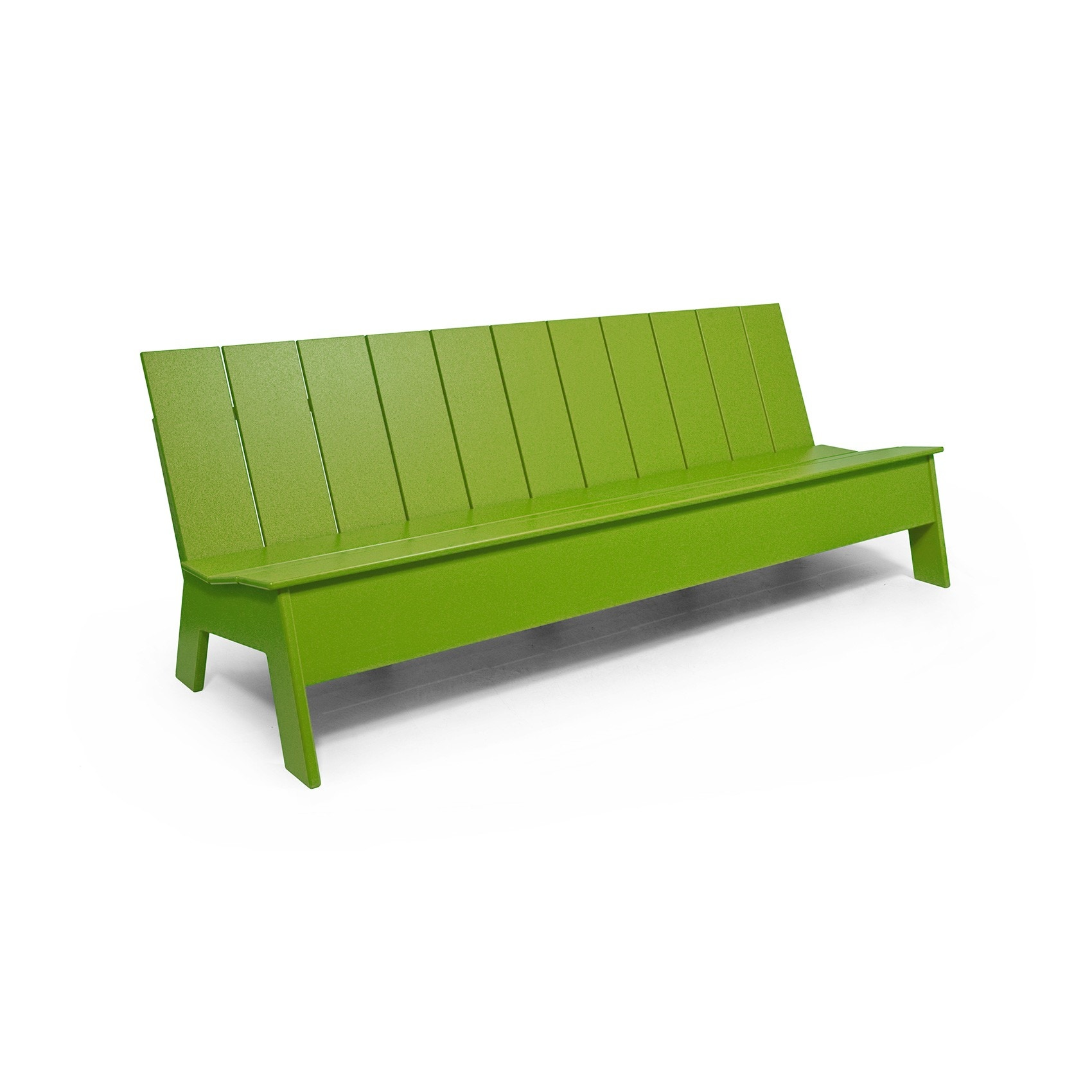 Loll Picket Low Back 7 Foot Outdoor Bench